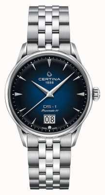 Certina Ds-1 großes Datum | powermatic 80 | Edelstahlarmband C0294261104100