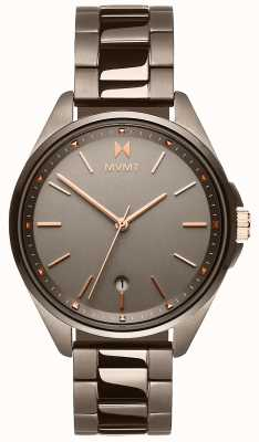 MVMT | Frauen Coronada | graues ionenbeschichtetes Armband | graues Zifferblatt 28000003-D