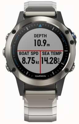 Garmin Quatix 5 | Saphir | Marine Smartwatch 010-01688-42