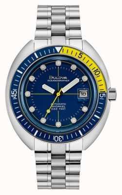 Bulova 70er Jahre Oceanographer Taucheruhr 96B320