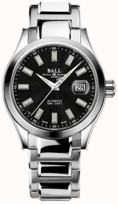 Ball Watch Company Herren | Ingenieur iii | Wunder | Edelstahl | schwarzes Zifferblatt NM2026C-S23J-BK