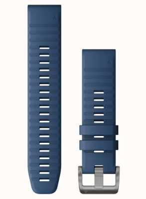 Garmin Quickfit 22 blaues Silikonband 010-12863-21