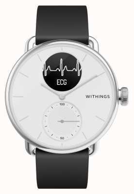 Withings Scanwatch 38mm weiß - Hybrid Smartwatch mit EKG HWA09-MODEL 1-ALL-INT