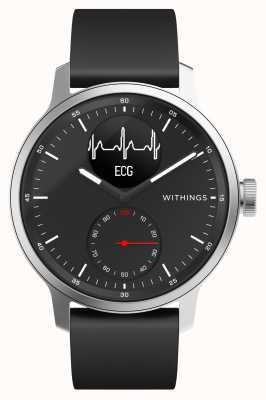 Withings Scanwatch 42mm schwarz - Hybrid Smartwatch mit EKG HWA09-MODEL 4-ALL-INT