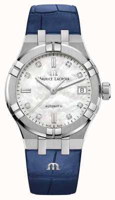 Maurice Lacroix Aikon | automatisch | Lederriemen AI6006-SS001-170-2