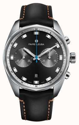 Favre Leuba Chief Sky Chief Chronograph | schwarzes Lederband 00.10202.08.11.41