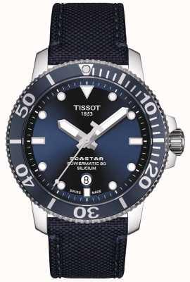 Tissot Seastar 1000 powermatic | blaues Gewebeband | blaues Zifferblatt T1204071704101