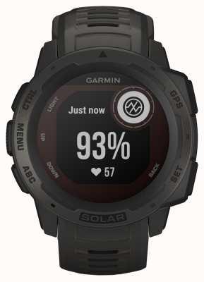 Garmin Instinkt Solar GPS Graphit Kautschukband 010-02293-00