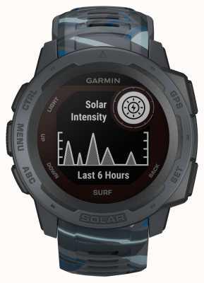 Garmin Instinct Solar GPS Surf Edition Pipeline Gummiband 010-02293-07