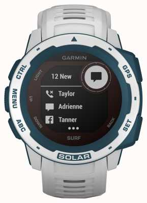 Garmin Instinct Solar GPS Surf Edition Cloudbreak Kautschukband 010-02293-08