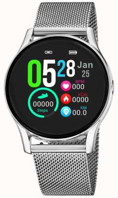 Lotus Smartime | Frauen | Edelstahlgewebe + freies Armband L50000/1