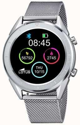 Lotus Smartime | Männer | Edelstahlgewebe + freies Armband L50006/1
