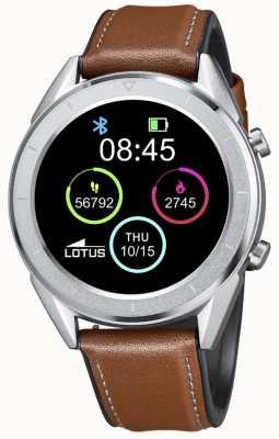 Lotus Smartime | Männer | braunes Lederband + freies Armband L50008/1