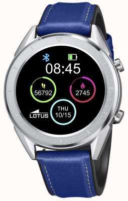 Lotus Smartime | Männer | blaues Lederband + freies Armband L50008/2