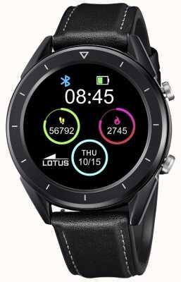 Lotus Smartime | Männer | schwarzes Lederband + freies Armband L50009/1