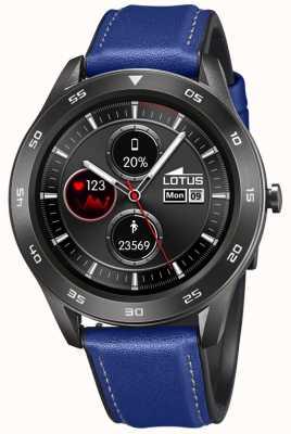 Lotus Smartime | Männer | blaues Lederband + freies Armband L50012/2
