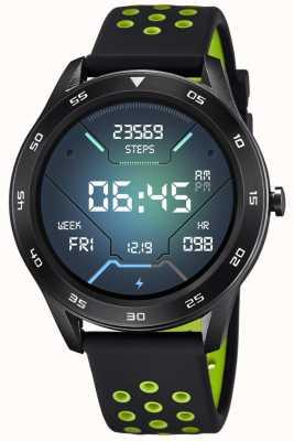 Lotus Smartime | Männer | schwarzes Silikonband + freies Armband L50013/1