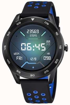 Lotus Smartime | Männer | schwarzes Silikonband + freies Armband L50013/3