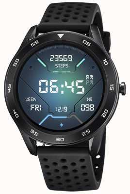 Lotus Smartime | Männer | schwarzes Silikonband + freies Armband L50013/5