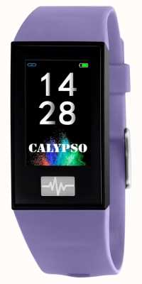 Calypso Unisex | smartime | lila Silikonarmband + freies Armband K8500/2