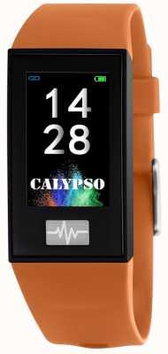 Calypso Unisex | smartime | orange Silikonarmband + freies Armband K8500/3