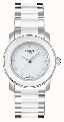 Tissot Damen Cera 28mm Diamant Set Uhr T0642102201600