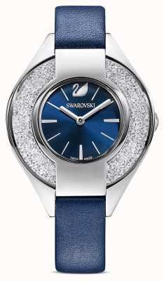 Swarovski Kristalline sportliche | blaues Lederband | blaues Zifferblatt 5547629
