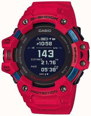 Casio G-Schock | g-Squad | Herzfrequenzmesser | Bluetooth | rot | GBD-H1000-4ER