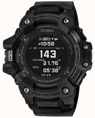 Casio G-Schock | g-Squad | Herzfrequenzmesser | Bluetooth | schwarz | GBD-H1000-1ER