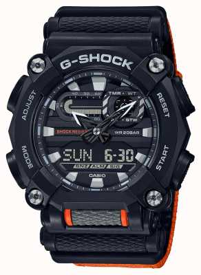 Casio G-Schock | ltd edition | schwere | Weltzeit | Orange GA-900C-1A4ER