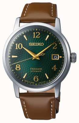 Seiko Presage | automatisch | grünes Zifferblatt | mojito | Datum | golden SRPE45J1