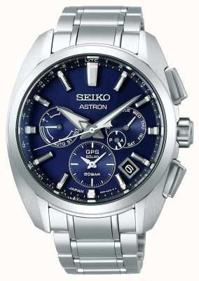 Seiko Astron | Titan | Herren | Solar | blaues Zifferblatt | sehen SSH065J1