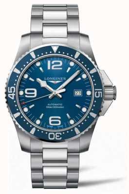 Longines Hydroconquest 44mm Automatik Taucher blaues Zifferblatt L38414966