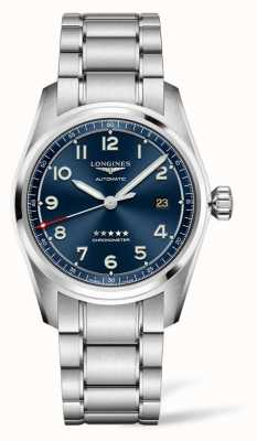 Longines Spirit Prestige Edition blaues Zifferblatt Edelstahl 40mm L38104939