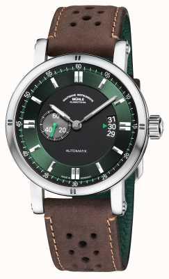 Muhle Glashutte Teutonia Sport ii | braunes Vintage-Armband M1-29-74-LB-B
