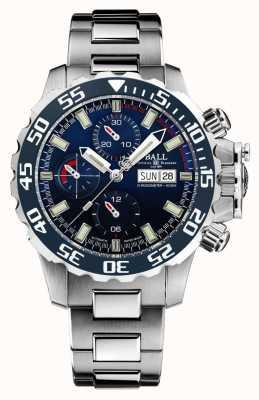 Ball Watch Company Ingenieur Kohlenwasserstoff Nedu blaues Zifferblatt DC3026A-S3C-BE