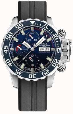 Ball Watch Company Ingenieur Kohlenwasserstoff nedu | schwarzes Silikonband DC3026A-P3C-BE