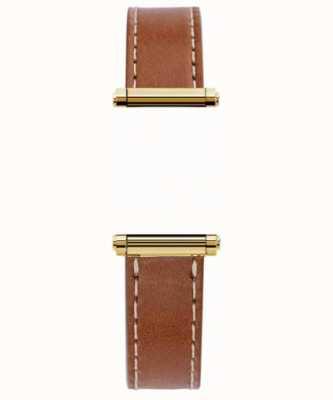 Michel Herbelin Antarès | Harrison Gold | nur austauschbares braunes Lederband (Gold) BRAC.17048.02/P