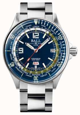 Ball Watch Company Ingenieur Master II Taucher Weltzeit | blaues Zifferblatt | 42mm DG2232A-SC-BE