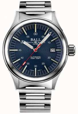 Ball Watch Company Feuerwehrmann Nachtbrecher | Edelstahlarmband | blaues Zifferblatt | 40mm NM2188C-S13-BE