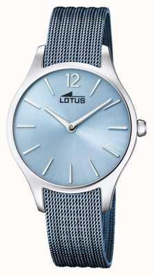 Lotus Blaues Stahlarmband für Damen | blaues Zifferblatt L18749/2