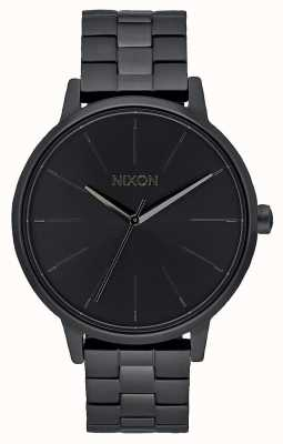 Nixon Kensington | alles schwarz | schwarzes IP-Armband | schwarzes Zifferblatt A099-001-00