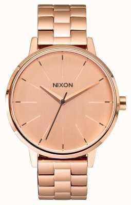 Nixon Kensington | alles roségold | roségold ip armband | roségoldenes Zifferblatt A099-897-00