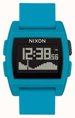 Nixon Grundflut | blaues Harz | digital | blaues Silikonband A1104-2556-00