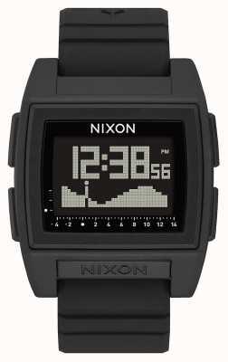Nixon Base Tide Pro | schwarz | digital | schwarzes Silikonband | A1307-000-00