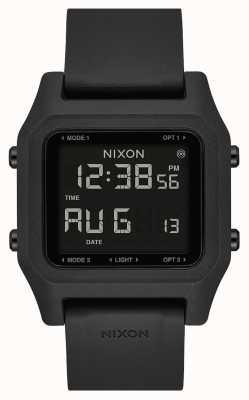 Nixon Heften | schwarz | digital | schwarzes Silikonband A1309-000-00