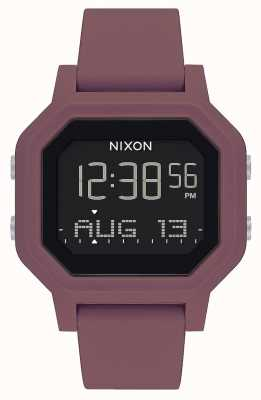 Nixon Sirene | burgund | digital | burgunder silikonarmband A1311-234-00