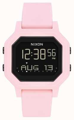 Nixon Sirene | blassrosa | digital | rosa Silikonarmband A1311-3154-00