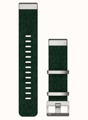 Garmin Quickfit 22 Jacquard-gewebtes grünes Nylonband 010-13008-00- NO BOX