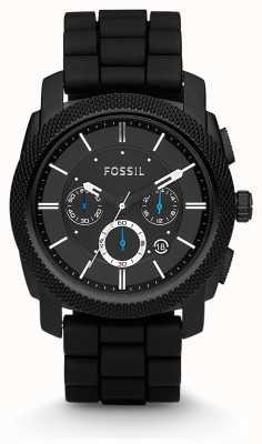 Fossil Herren Chronograph schwarz Bügeluhr FS4487